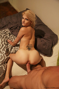 Horny Blonde Hope Harper Enjoys Anal Sex