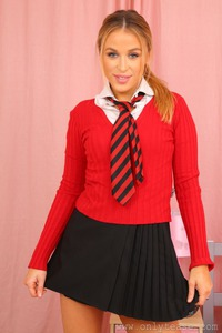 Rosie Schoolgirl Is Very Naughty
