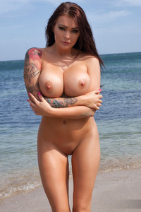 Charley Gets Nude On The Beach