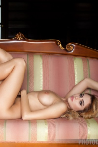 Sexy And Glamour Margot Strips Ot Naked