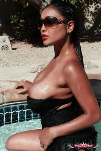 Priya Rai By The Pool