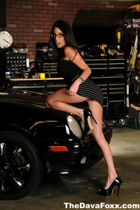 Long Legged Dava Foxx