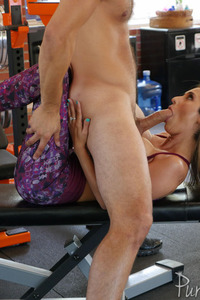 Busty MILF Reena Sky Gets Fucked In The Gym
