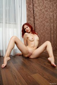 Sexy Redhead Skinny Teeen  Pearl Ami