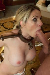 Blonde MILF Amateur Bondage Fuck