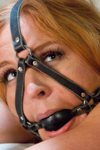 Blonde Busty Slave Gets Punished