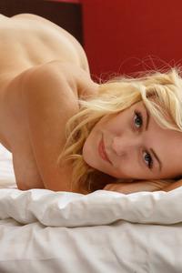 Sexy Blonde Babe Aislin