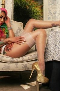Amelia Hot Tattooed Asian