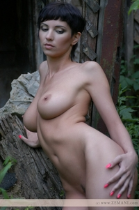 Erica in the wood