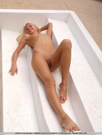 Sexy blond Judita