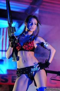 Wild chick Kristina Walker