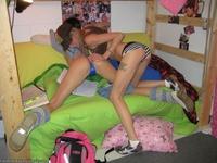 Brooke & Megan masturbate