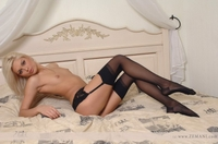 Beautiful Evzha on the bed