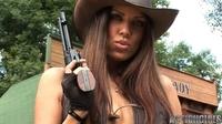 Amanda western strip