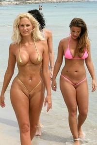 Tight bikinis
