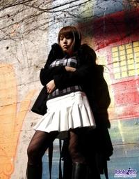 Yuria is a nasty schoolgirl