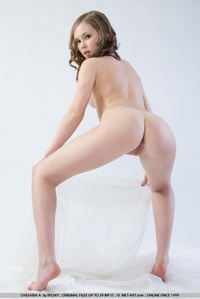Pretty Megan posing