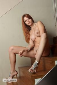 Sexy redhead Kami
