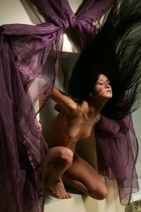 Maria posing naked