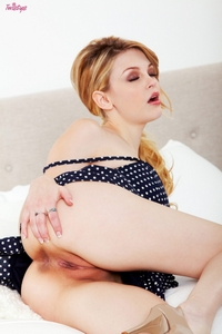 Stunning blonde Bree Daniels