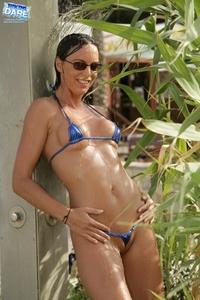 Lovely blue bikini