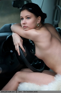 Marina from Ukraine - Car