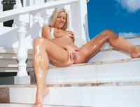 Wet and oily