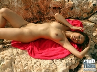Nude Marie Ann teasing the camera