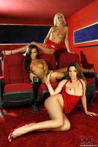 Carla Cox & Carmen & Peaches