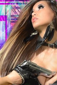Lyna black corset