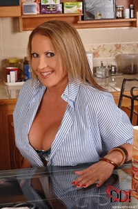 Baking with bountiful breasts