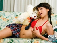 Virgin Thai schoolgirl getting crazy