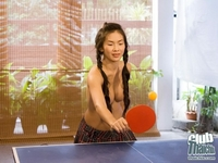 Sexy naked pingpong