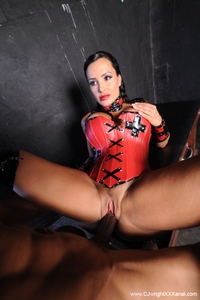 Lisa Ann in kinky interracial hardcore