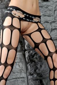 Wild Beata's hot stockings