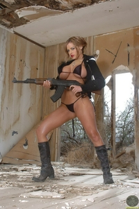 Wild Penny Mathis sexy outlaw with a gun