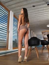Tight ass Iwia bending over