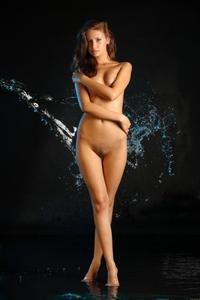 Gorgeous Irina posing in the studio