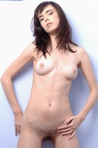 Young Masha's cute perky titties