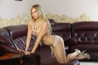 Gorgeous teen blonde Bally naked