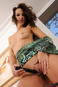 Hot Aneta's tight round bottom