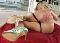 Hot ass Carli Banks bending