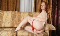 Tempting redhead Rudy hot teasing