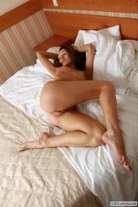 Cheeky Brigitte teasing naked