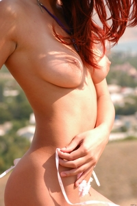 Teen hottie Rudy top of the hill