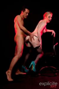 Horny Amy Knox's HC fist & sodomy