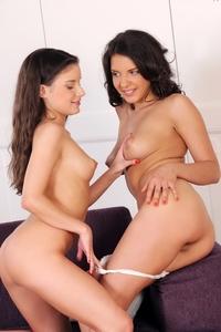 Hot teen Anita & Henessy charming..