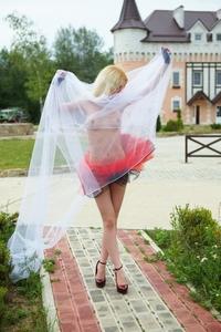 Naked teenage balerina