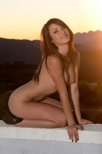 Tight ass Malena Morgan bending naked