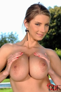 Big titted Katarina's huge naturals